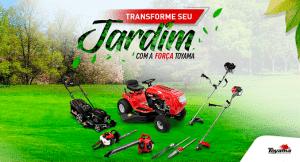 equipamentos para manutenção de áreas verdes